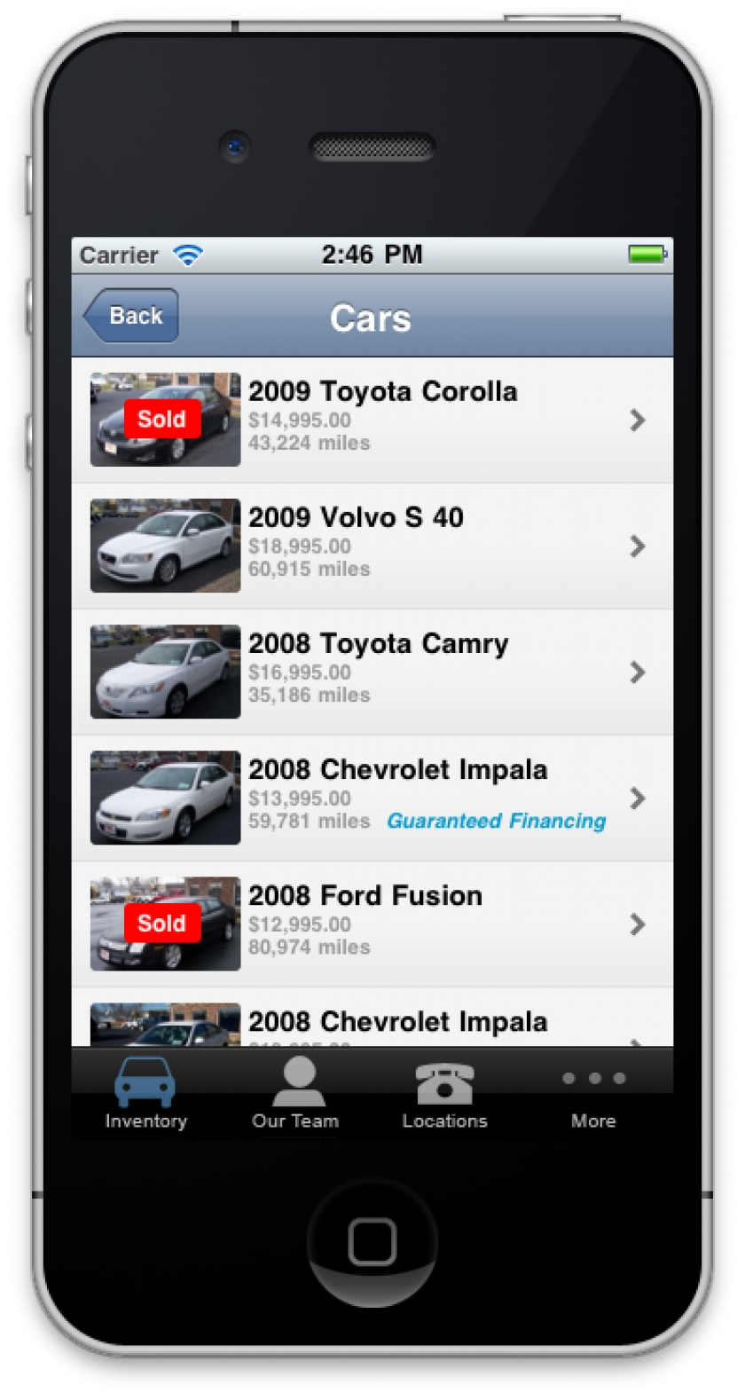 Launch: Perkins Mobile iPhone Web Application | Blog ...